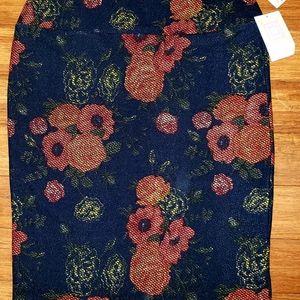 LuLaRoe Skirts - Lularoe NwT Skirt Orange Print Straight XL